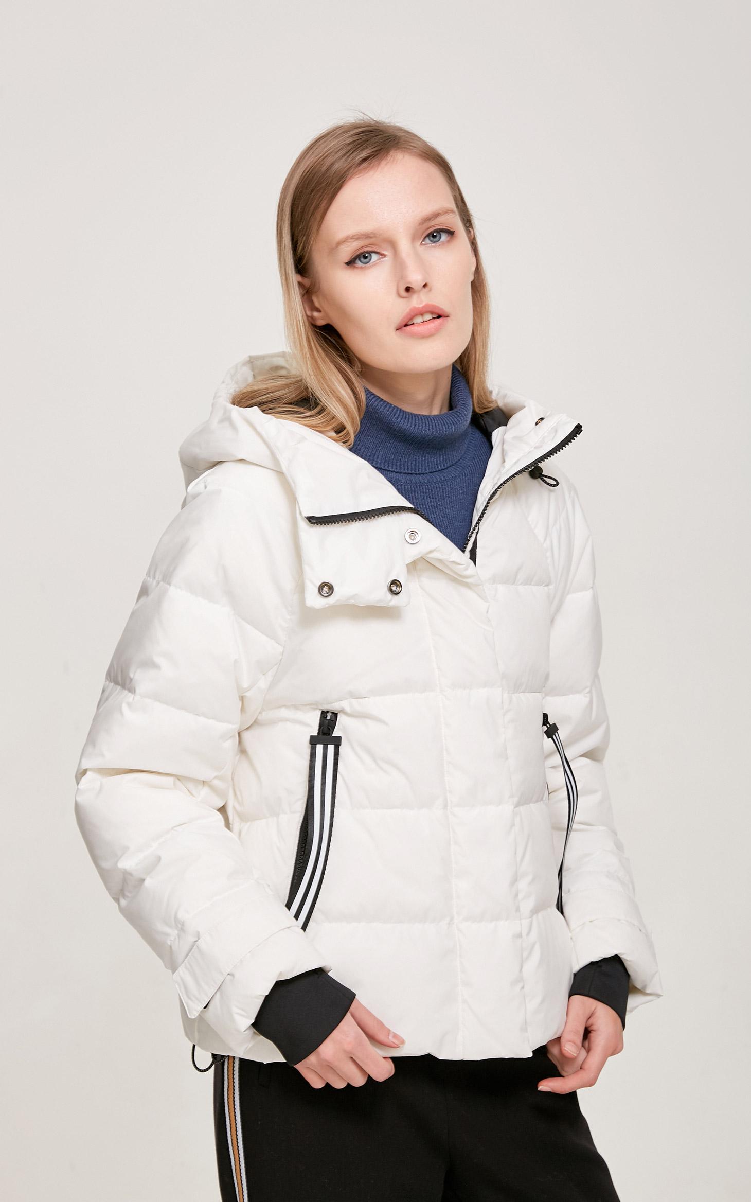 多功能休闲风设计白鸭绒填充羽绒服